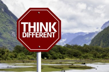 Think Different red sign