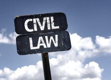 Civil Law   sign