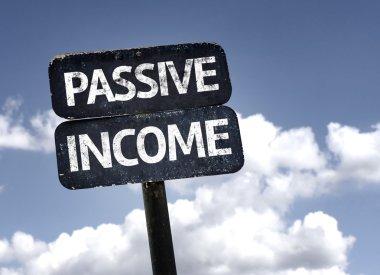 Passive Income sign