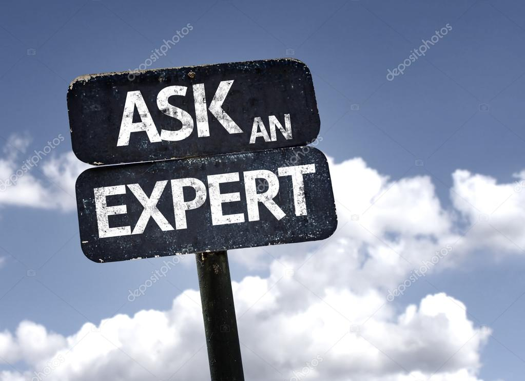 Ask An Expert sign