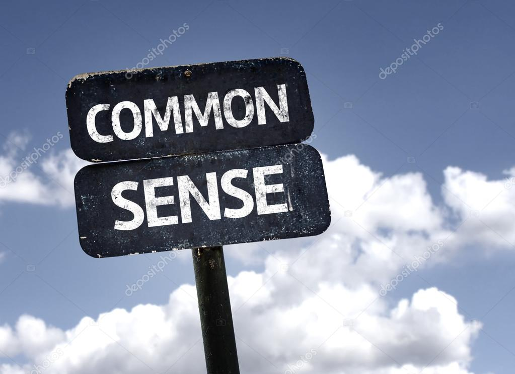 Common Sense sign