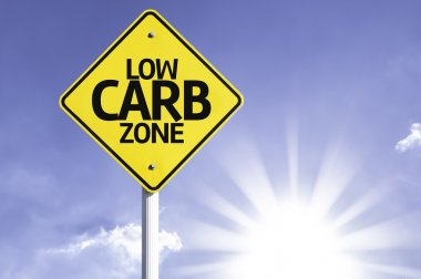 Low Carb Zone road sign
