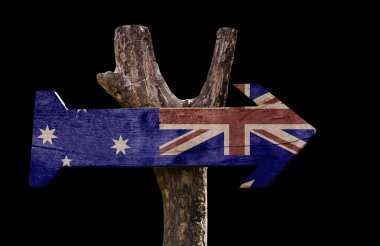 New Zealand wooden sign
