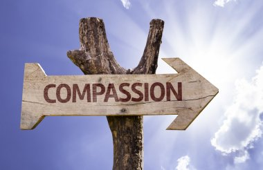 Compassion sign with