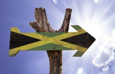 Jamaica wooden sign
