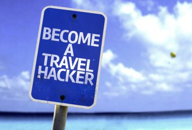 Become a Travel Hacker sign
