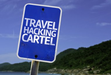 Travel Hacking Cartel sign