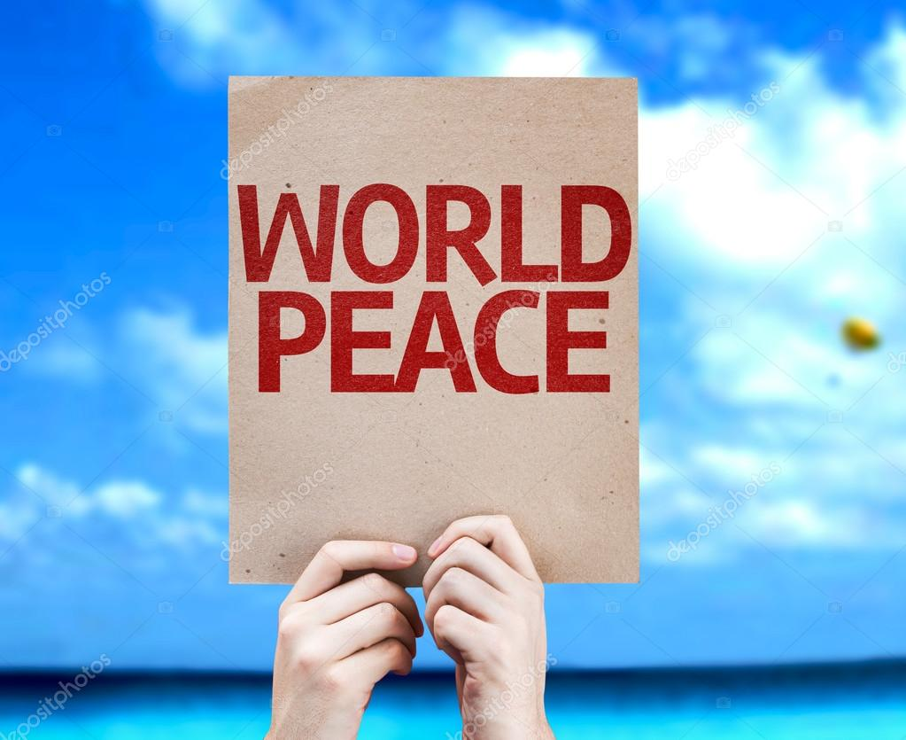 World Peace card