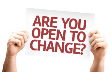 Are You Open to Change? card