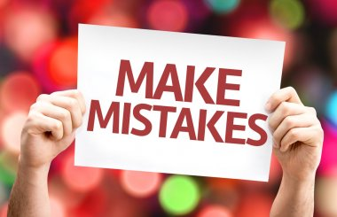 Make Mistakes card