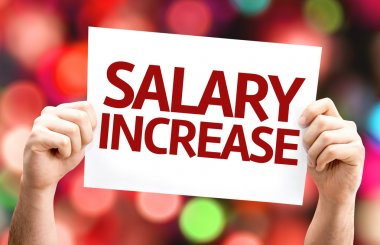 Salary Increase card