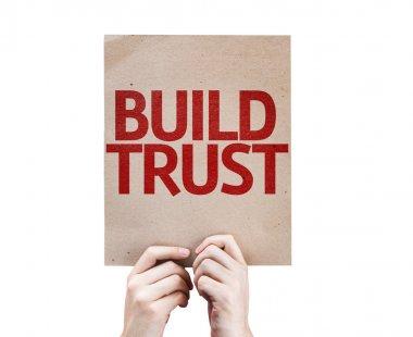Build Trust card