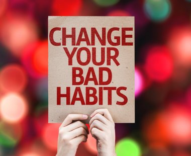 Change Your Bad Habits card