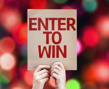 Enter to Win card