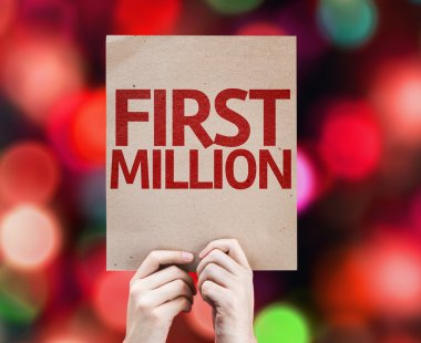 First Million card