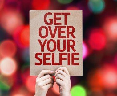 Get Over Your Selfie card