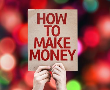 How To Make Money card