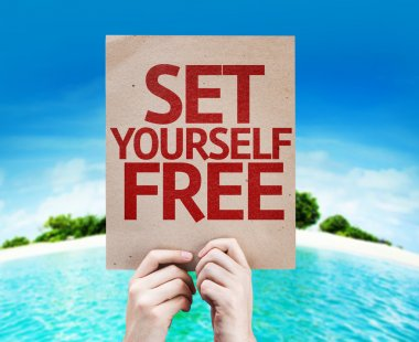 Set Yourself Free card