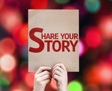 Share Your Story card