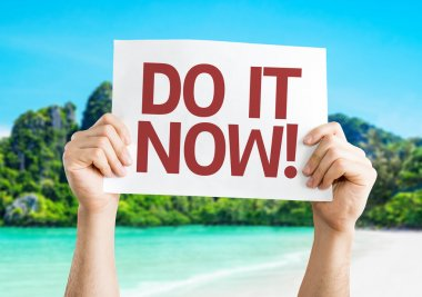 Do it Now! card