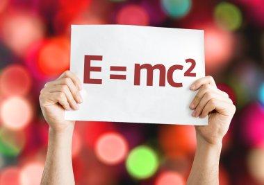 E equal to mc2 card