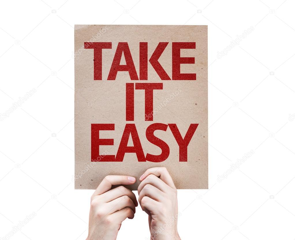 Take It Easy Karty Stock Fotografie C Gustavofrazao 63172405