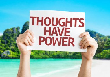 Thoughts Have Power card