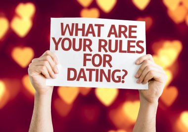 What are your Rules for Dating? card