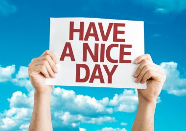 Have a Nice Day card