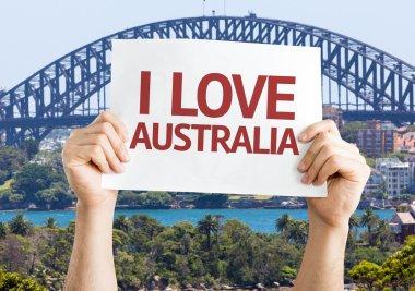 I Love Australia card