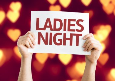Ladies Night card