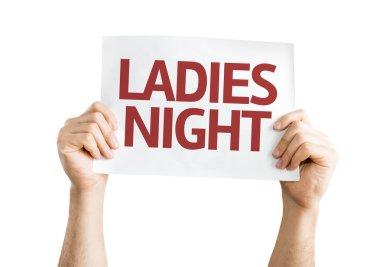 Ladies Night card