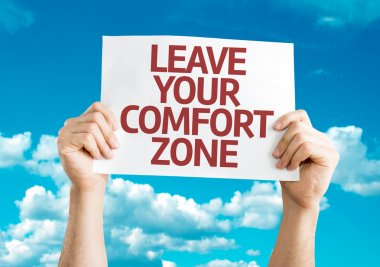 Leave Your Comfort Zone card