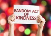Náhodný akt laskavost kartu