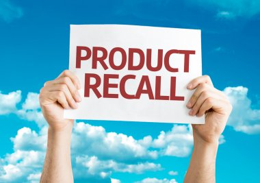 Product Recall card