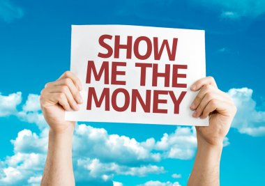 Show Me The Money card