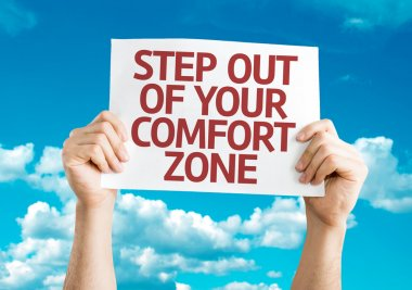 Step Out of Your Comfort Zone card