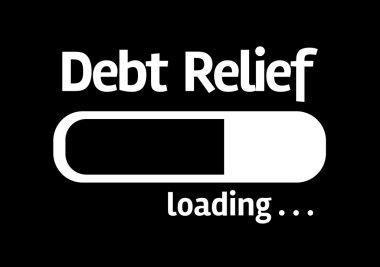 Black board: Debt Relief