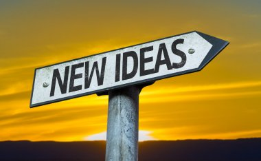 New Ideas sign