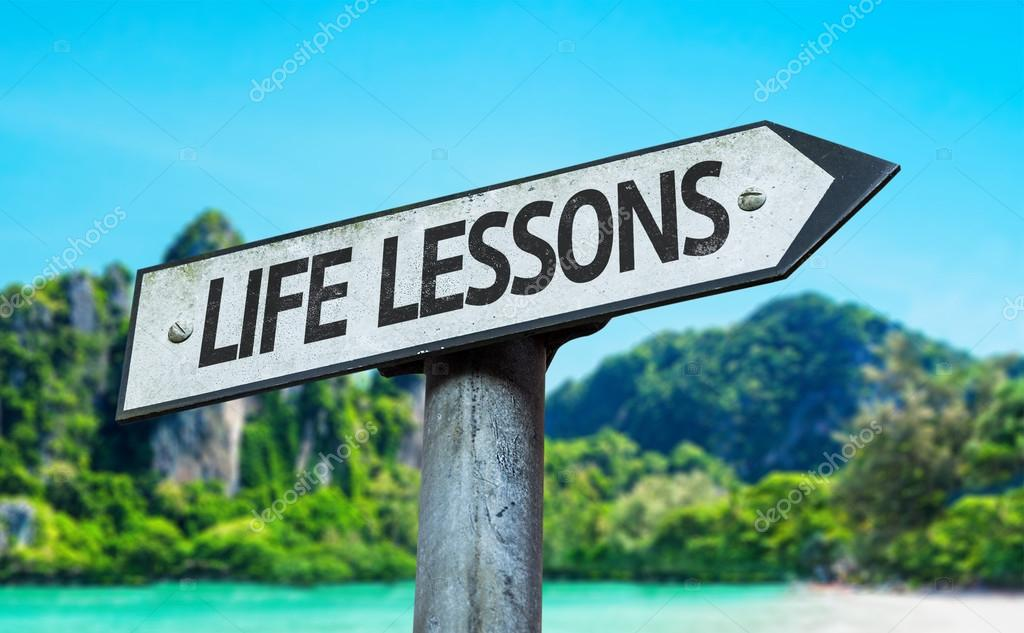 Life Lessons sign
