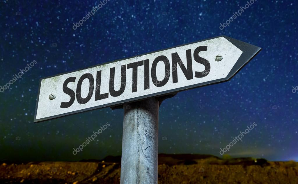 Text Solutions on sign