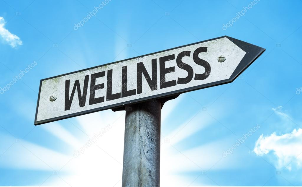 Text Wellness on sign