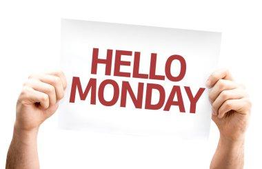 Hello Monday card