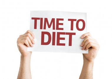 Time to Diet card