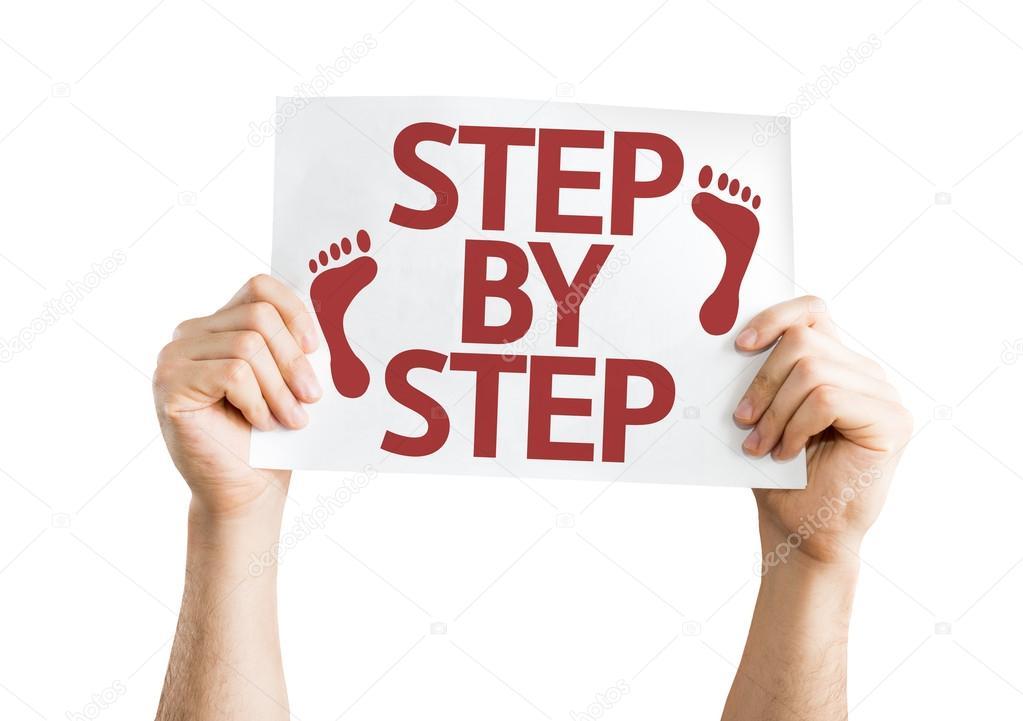 Step By Step card