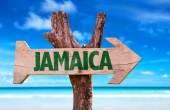 Photo Jamaica wooden sign