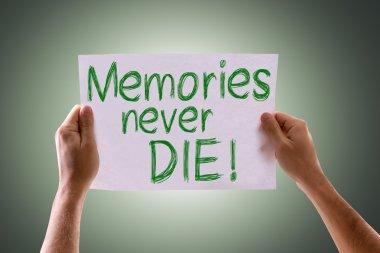 Memories Never Die card
