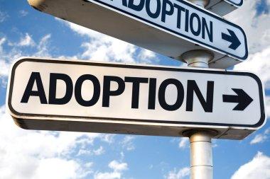 Adoption direction sign