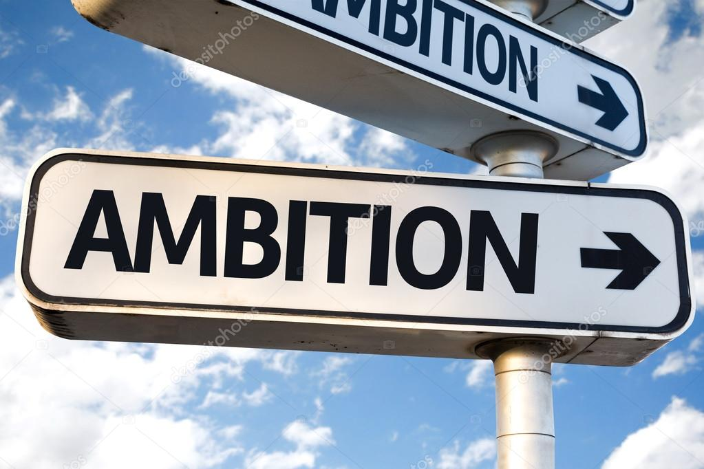 Ambition direction sign