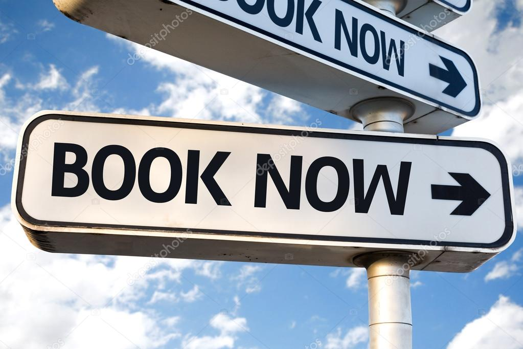 Book Now sign